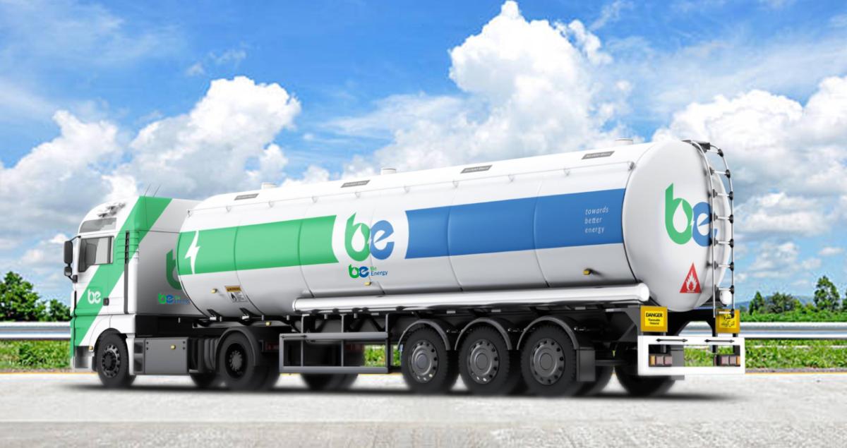 BE Energy Truck banner 2